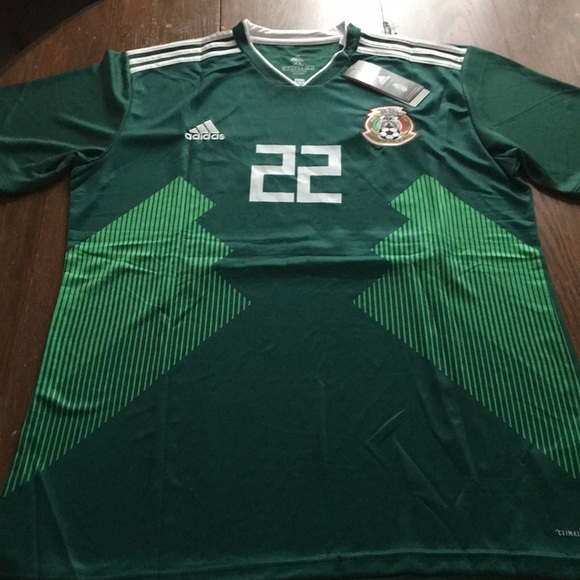 mexico green jersey